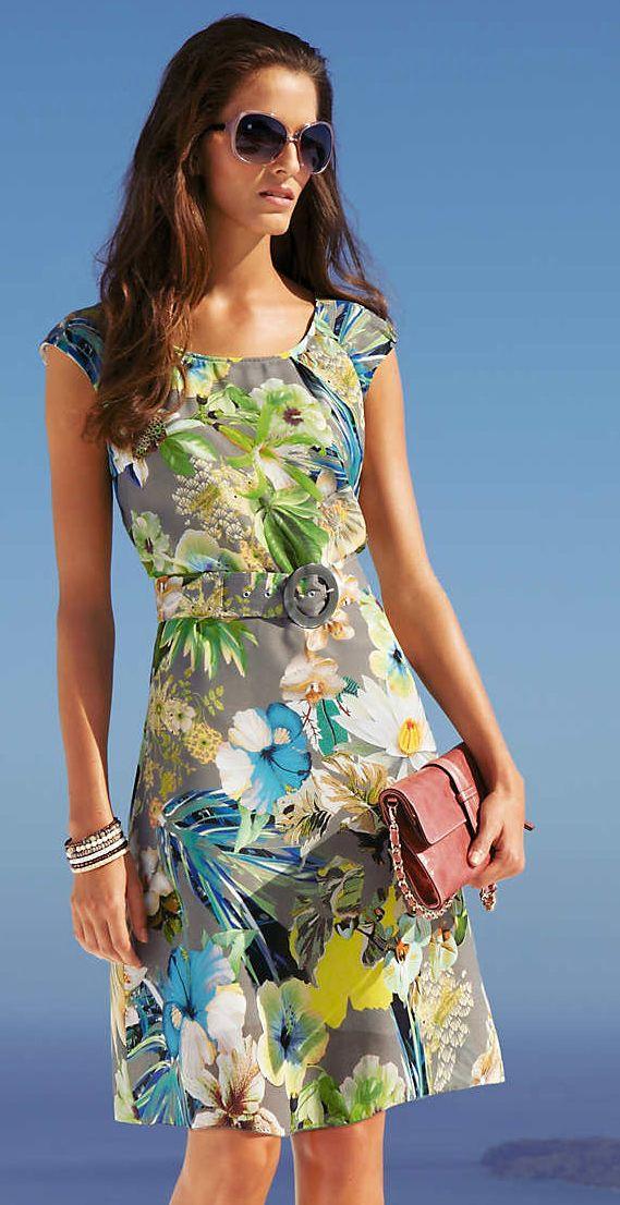 Платья летние из льна и хлопка
