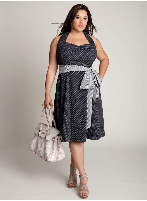 Фото простых но красивых платьев на толстушек 2 фотография