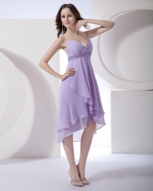 Фото красивые сиреневые платья