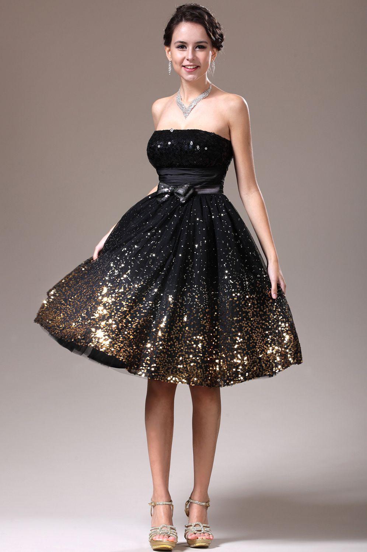 Платье до колена праздничное